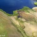 Vlucht boven Zuider eiland NZ